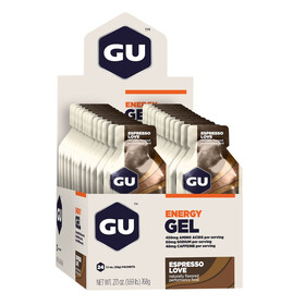 GU Energy Gel Box Espresso Love 24x 32g